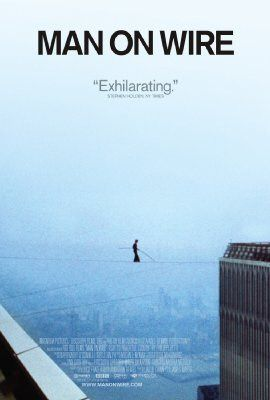 Philippe Petit spent forty-five minutes dancing on 200 feet of tightrope stretched between the WTC towers, and I got sweaty-palmed just looking at photos of him standing on the edge.