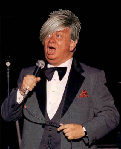Mel Tormé rocked Kate's hairstyle back in the late '80s.