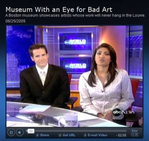 ABC News Video: Museum with an Eye for Bad Art